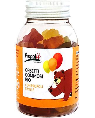 Kontak Organic Gummy Bears, 80 gr – Organic Propolis and Honey Natural Remedies