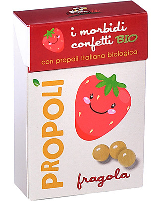 Kontak Organic Propolis Soft Sweets, Strawberry – For a healthy treat! Natural Remedies