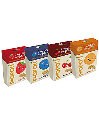Kontak Organic Propolis Soft Sweets, Strawberry - For a healthy treat! Natural Remedies