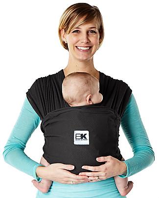 K'TAN Ergonomic Baby Carrier 6 in 1 Breeze, Black - 100% cotton Baby Carriers