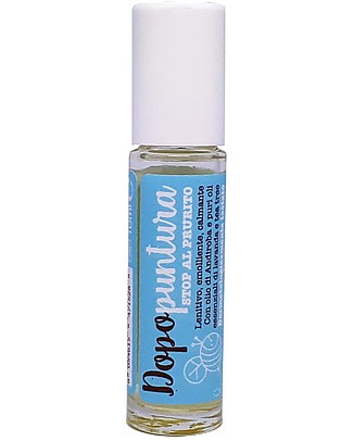 La Saponaria After Bite Roll-On, 10 ml - Stop Itching! Mosquito Repellant
