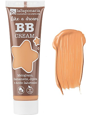 "La Saponaria BB Cream ""Like a Dream"", n°3 Gold - 30 ml Face"