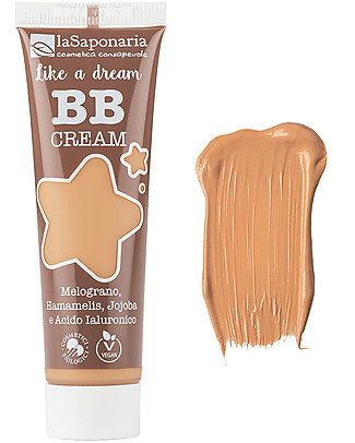 "La Saponaria BB Cream ""Like a Dream"", n°4 Beige - 30 ml Face"