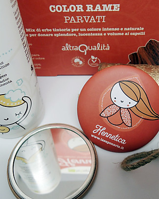 "La Saponaria Bio Hair Dye 100% Vegetarian, Copper ""Parvati"" Hair Care"