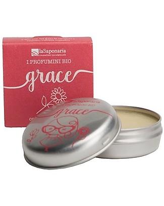 La Saponaria Bio Solid Fragrance Grace, 15 ml - Sensual Deodorant
