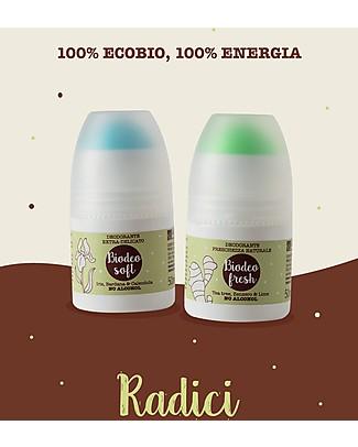 La Saponaria Biodeo Soft, Organic Deodorant with Iris, Burdok and Calendula, 50 ml - Extra-soft Deodorant