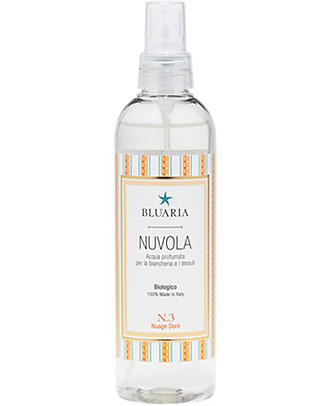 "La Saponaria Bluaria Scented Water for Rooms and Fabrics ""Nuvola"", Fig and Rhubarb - 250 ml Deodorant"