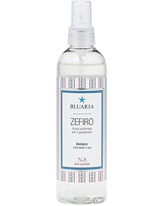 "La Saponaria Bluaria Scented Water for Rooms and Fabrics ""Zefiro"", Rose and Agar - 250 ml Home Cleaning"