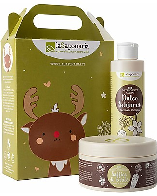 La Saponaria Cupido - Gift Idea, Vanilla and Carrot Body Lotion and Soap Body Lotions And Oils