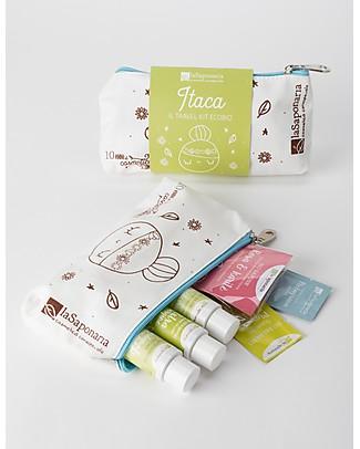 La Saponaria Gift Set Itaca - 6 products in a mini pochette  Detergents
