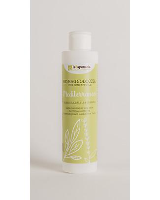 La Saponaria Mediterranean ShowerGel, 200 ml - For Dry Skins null