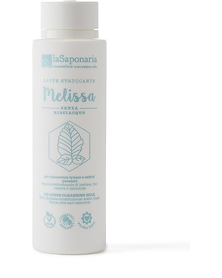 La Saponaria Melissa Cleansing Milk, 150 ml - With calendula and black Venus rice Face