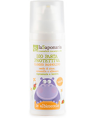 La Saponaria Nappy Change Organic Protective Cream, 75 ml - Nourishing and lenitive Nappy Creams