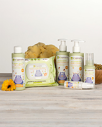 La Saponaria Organic Mum and Baby Oil, 30 ml Spray  - Emollient and lenitive Body Lotions And Oils