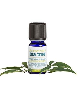 La Saponaria Organic Tea Tree Essential Oil, 10 ml - Toning and revitalizing, against stress and depression Body Lotions And Oils