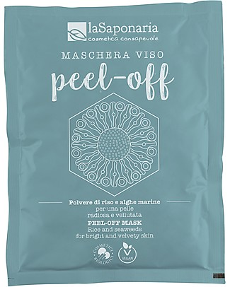 La Saponaria Peel-Off	Face Mask, 30 gr - For all Skin Types Face