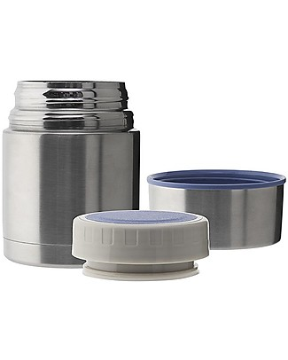 Laken Stainless Steel Thermo Food Flask, 500 ml - Mermaid Lunch Boxes in Metal