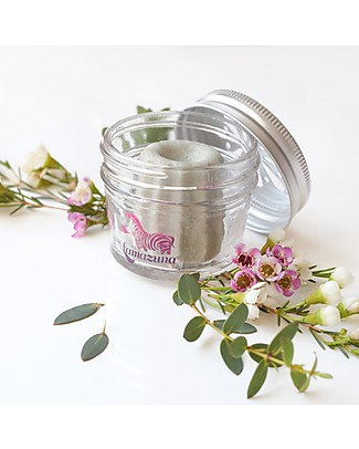 Lamazuna Glass Container for Solid Shampoos, Deodorants or Toothpastes Shampoos And Baby Bath Wash