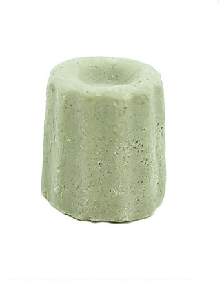 Lamazuna Solid Shampoo for Greasy Hair, Herbs - 55g - Zero Plastic, 100% Natural! Shampoos And Bath Wash