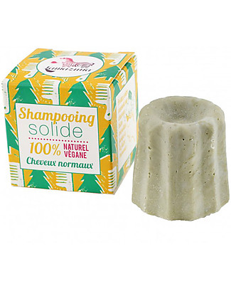 Lamazuna Solid Shampoo for Normal Hair, Pine Three - 55g - Zero Plastic, 100% Natural! Shampoos And Baby Bath Wash