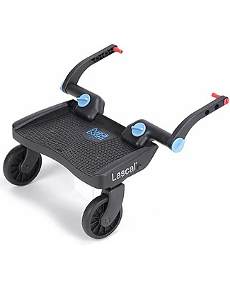 Lascal Buggy Board Mini, Blue - Universal and easy to attach! Stroller Accessories