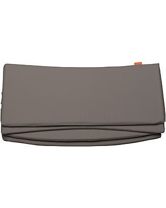 Leander Cot Bumper for Leander Crib, Grey- 4 sections, 100% cotton Bumpers