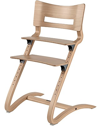 Leander Evolutive High Chair, Natural - For Children from 6 Months to 10 Years old! High Chairs