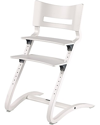 Leander Evolutive High Chair, White - For Children from 6 Months to 10 Years old! High Chairs