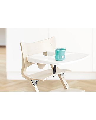 Leander Tray Table for Leander High Chair, White with Raised Edges High Chairs