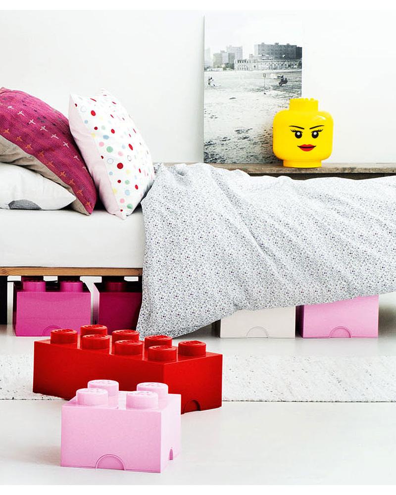 Lego Head Girl Storage Box   Large Toy Storage Boxes