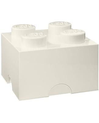 Lego LEGO 4-Stud White Storage Brick! Toy Storage Boxes