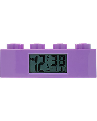 Lego LEGO Friends Purple Brick Alarm Clock Alarm Clocks