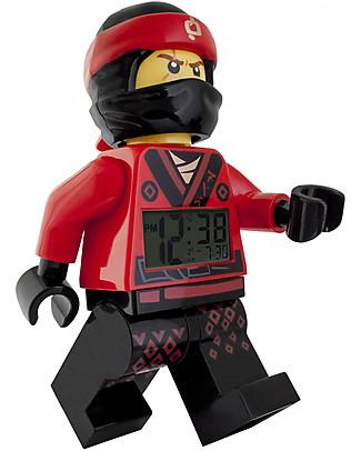 Lego LEGO Ninjago Movie Kai Minifigure Alarm Clock Alarm Clocks