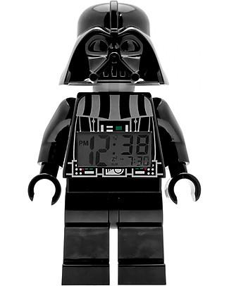 Lego LEGO Star Wars Darth Vader Minifigure Light Up Alarm Clock  Alarm Clocks