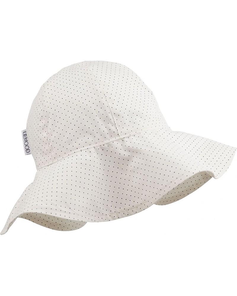 d851f73299aaed Liewood Amelia Sun Hat, 100% organic cotton - Creme de la creme Dots Sunhats