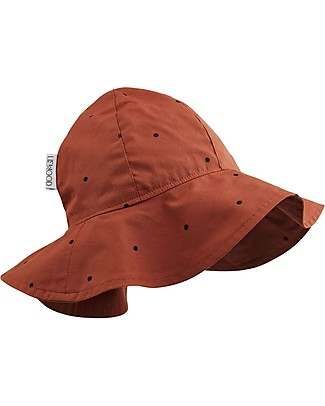Liewood Amelia Sun Hat, 100% organic cotton - Rusty Dots Sunhats