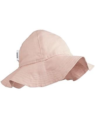 Liewood Dorrit Sun Hat, Organic Linen and Cotton - Rose Sunhats