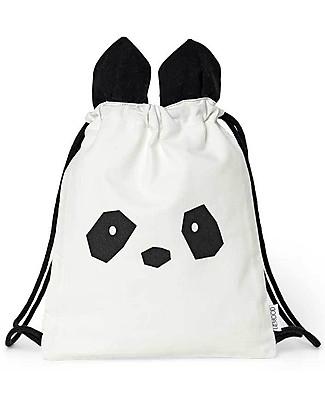 Liewood Gert Gym Bag, Panda Creme de la Creme - 100% Organic Cotton null