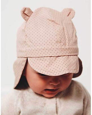 Liewood Gorm Sun Hat, 100% organic cotton - Dots Rose Sunhats