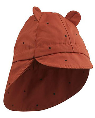 Liewood Gorm Sun Hat, 100% organic cotton - Rusty Dots Sunhats