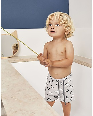 Liewood Otto Swim Pants, Panda Dumbo Grey - UPF 50+ Swimming Trunks