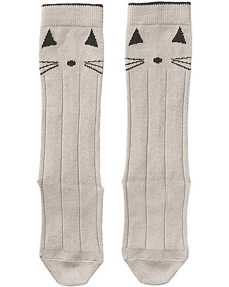 Liewood Sofia Socks, Cat Sweet Rose - Elasticated Cotton Socks