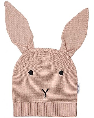 Liewood Viggo Knit Hat, Merino Wool - Rabbit Rose Winter Hats