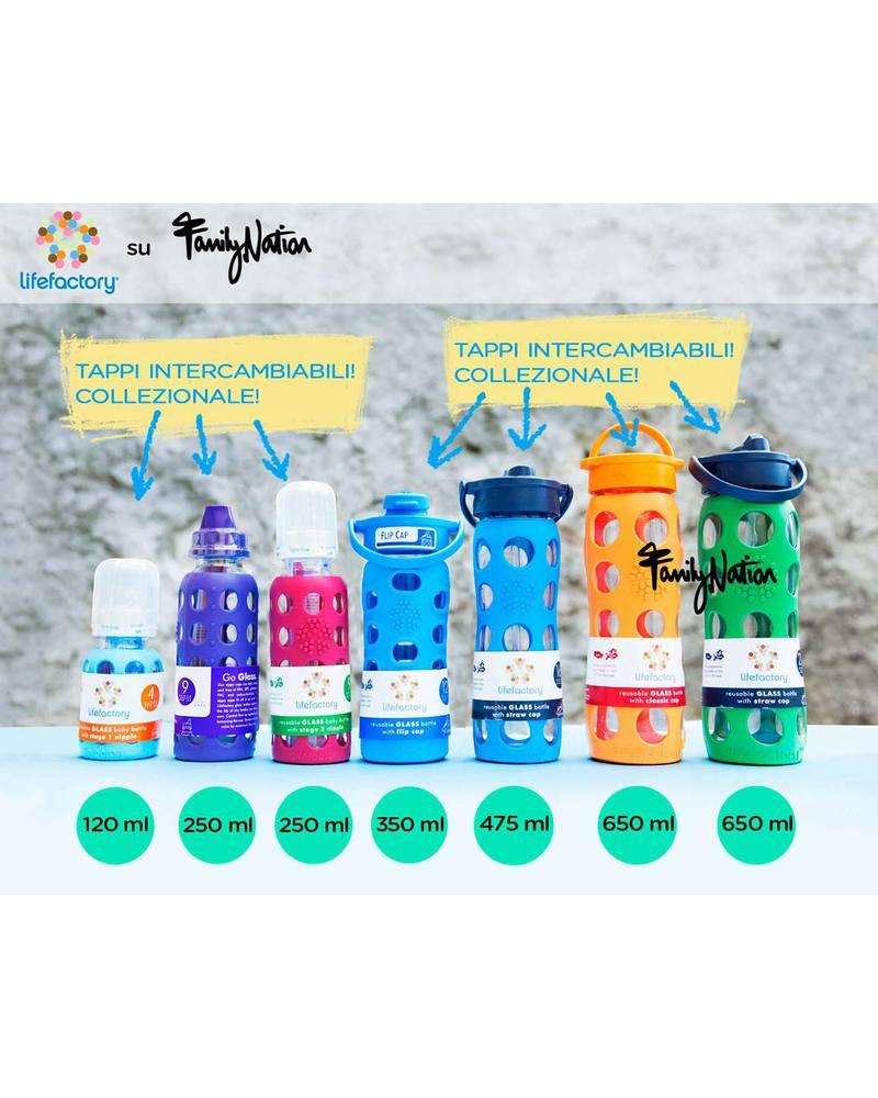 Lifefactory 4oz baby bottle