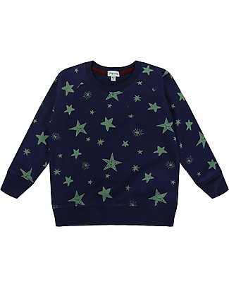 Lilly+Sid Boy Sweatshirt, Starry - 100% Organic Cotton Sweatshirts