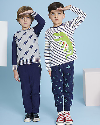 Lilly+Sid Joggers, Stars - 100% organic Cotton Trousers