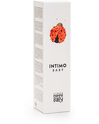 Linea Mamma Baby Baby Intimate Soap 150ml Spray - Mousse Formulated for Babies Skin PH Intimate Hygiene