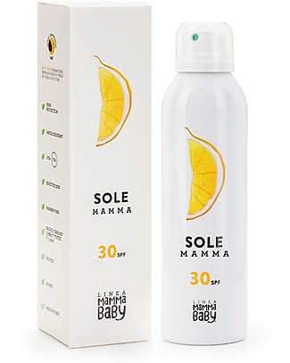 Linea Mamma Baby Mum Sun Lotion Angelina 30+ Spray, 150 ml - Eco-friendly! Sun Screen