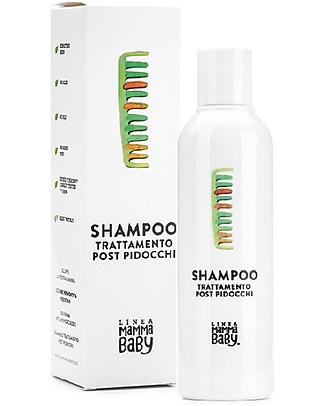 "Linea Mamma Baby Post Anti Lice Treatment Shampoo ""Paolino"" - 200 ml Baby Bath Wash and shampoo"
