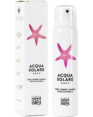 "Linea Mamma Baby Sun Hydrating Water ""Simoncina"" - 75 ml Sun Screen"